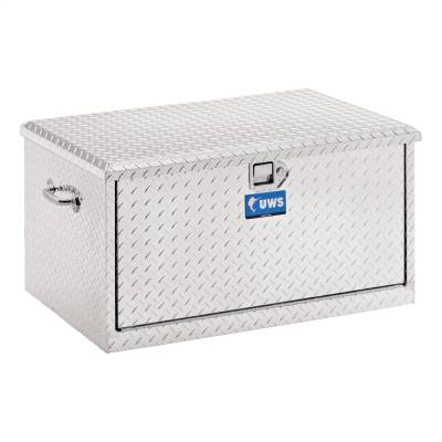 Aluminum - UWS Chest Boxes Aluminum - UWS - UWS 38in. Aluminum Chest with 2 Drawer Slides (TBC-38-DS)