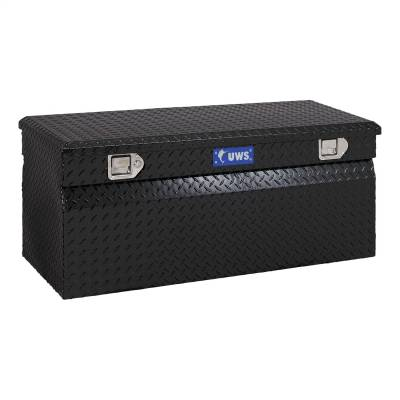 Aluminum - UWS Chest Boxes Aluminum - UWS - UWS 48in. Aluminum Chest Box Black (TBC-48-BLK)