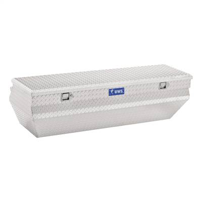Aluminum - UWS Chest Boxes Aluminum - UWS - UWS 55in. Aluminum Chest Box Wedge Notched (TBC-55-WN)