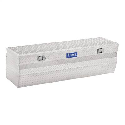 Aluminum - UWS Chest Boxes Aluminum - UWS - UWS 60in. Aluminum Chest Box Wedge (TBC-60-W)