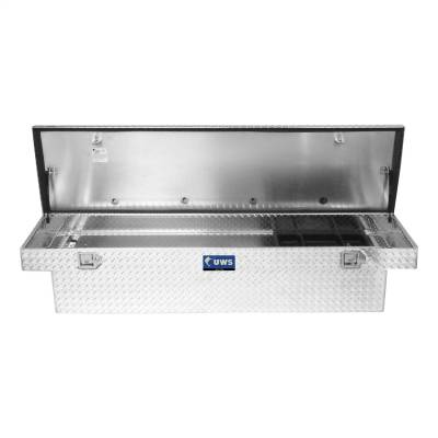UWS - UWS 69in. Aluminum Single Lid Crossover Toolbox with Rail (TBS-69-R) - Image 3