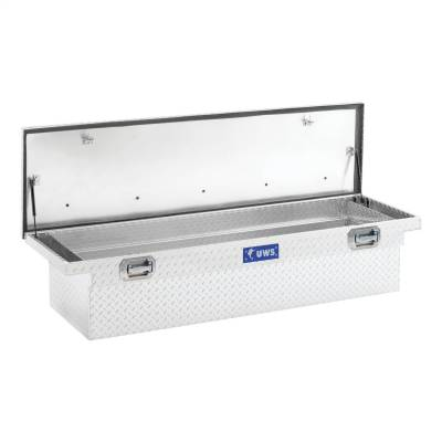 UWS - UWS 72in. Aluminum Single Lid Crossover Toolbox Pull Handle Low Profile (TBS-72-LP-PH) - Image 4