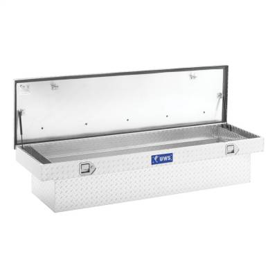 UWS - UWS 72in. Aluminum Single Lid Crossover Toolbox with Rail (TBS-72-R) - Image 2