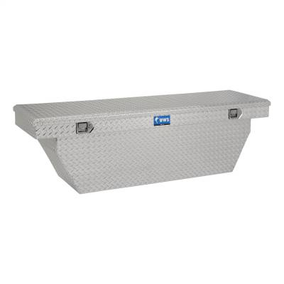 UWS - UWS 72in. Aluminum Single Lid Crossover Toolbox Deep Angled (TBSD-72-A)