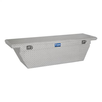 UWS - UWS 72in. Aluminum Single Lid Crossover Toolbox Deep Low Profile Angled (TBSD-72-A-LP)