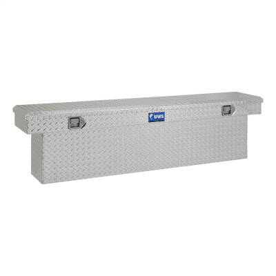 UWS - UWS 72in. Aluminum Single Lid Crossover Toolbox Deep Slim Line (TBSD-72-SL)