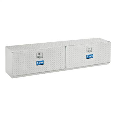 UWS - UWS 90in. Aluminum Topsider Tool Box Double Door (TBTS-90)