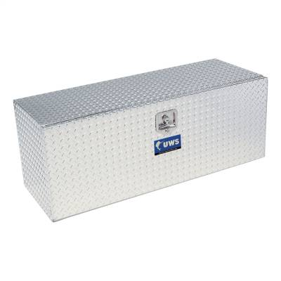 Aluminum - UWS Under Body Boxes Aluminum - UWS - UWS 24in. Aluminum Underbody Tool Box Single Door (TBUB-24)