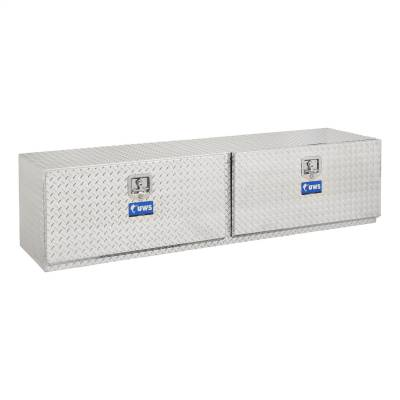 Aluminum - UWS Under Body Boxes Aluminum - UWS - UWS 72in. Aluminum Underbody Box Double Door (TBUB-72)