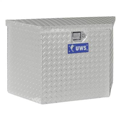 Aluminum - UWS Chest Boxes Aluminum - UWS - UWS 34in. Aluminum Trailer Chest Box Chest (TBV-34)