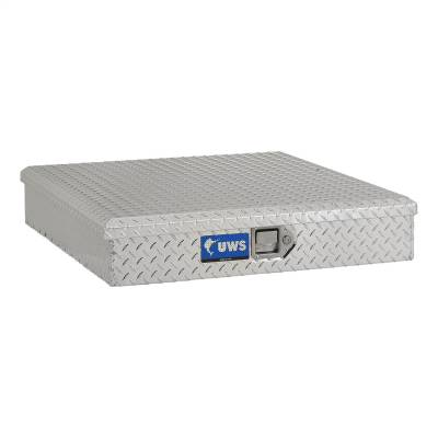 Aluminum - UWS Chest Boxes Aluminum - UWS - UWS 34in. Aluminum Dog Box Tracking Collar Box (TCB-34)