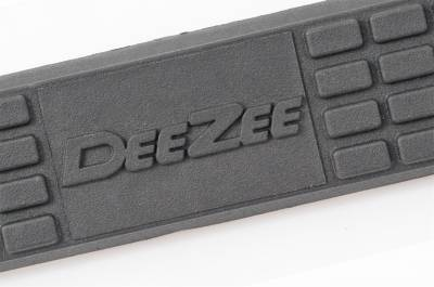 Oval Steps - DeeZee Oval Steps - Dee Zee - Dee Zee Tubes-3in. Round Black Steel (DZ374291)