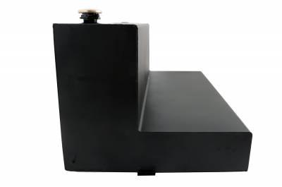 L Shape Tanks - DeeZee L Shape Tanks Aluminum - Dee Zee - Dee Zee Tanks-L-Shape Black Tread Aluminum (DZ92756B)