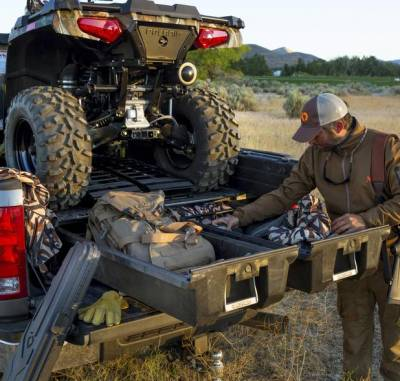 Decked - DECKED Truck Bed Organizer 15-Pres Ford F150 Aluminum 6.6' Bed(DF5-FXWQ) - Image 6