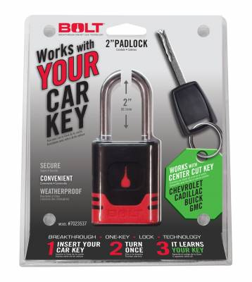 BOLT - BOLT PADLOCK GM CENTER CUT 7023537