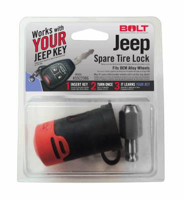 BOLT - BOLT SPARE TIRE LOCK (JEEP) 5922986