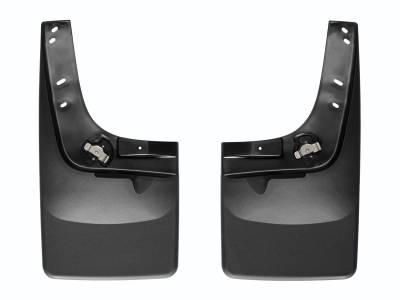 Misc. - Weathertech Misc. Exterior - Weathertech - MudFlap No-Drill DigitalFit(R)  Black