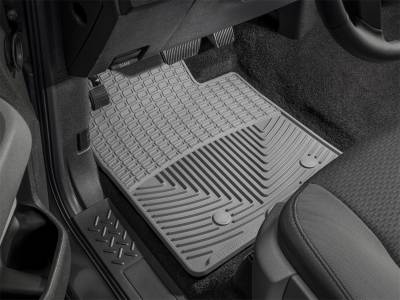 Weathertech - All Weather Floor Mats  Gray; Fits Vehicles w/2 Retention Posts