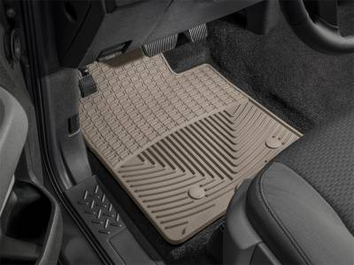 Weathertech - All Weather Floor Mats  Tan; Fits Vehicles w/2 Retention Posts