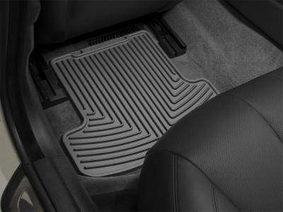 Floor Mats - Weathertech Floor Mats - Weathertech - All Weather Floor Mats  Black; Does Not Cover Under Seat