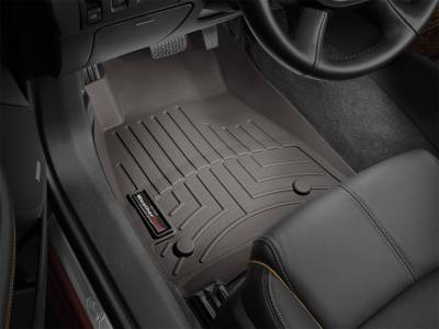 Weathertech - FloorLiner(TM) DigitalFit(R)  Cocoa; Fits Vehicles w/Under Seat Storage