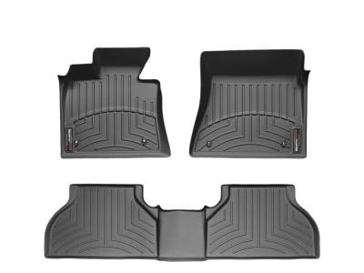 Floor Mats - Weathertech Floor Mats - Weathertech - FloorLiner(TM) DigitalFit(R)  Black; Fits Vehicles w/Full Length Floor Console