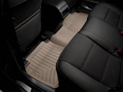 Weathertech - FloorLiner(TM) DigitalFit(R)  Tan; 1 pc.; Fits Vehicles w/2nd Row Bucket Seats