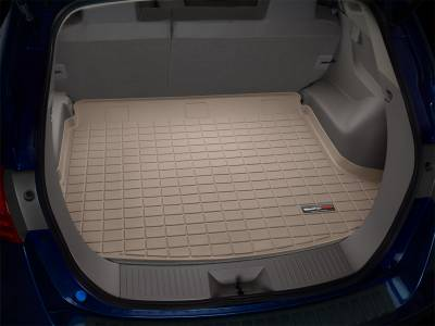 Cargo Mats - Weathertech Cargo Mats - Weathertech - Cargo Liner  Tan; Trim Line Allows Fitment In Vehicles w/Cargo Mounted Subwoofer