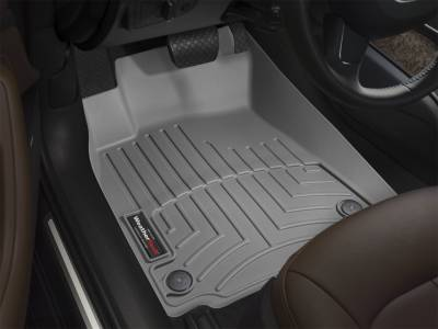 Weathertech - FloorLiner(TM) DigitalFit(R)  Gray; Front