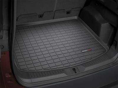 Cargo Mats - Weathertech Cargo Mats - Weathertech - Cargo Liner  Black; Behind 2nd Seat; w/o 3rd Seat; No Double Decker System