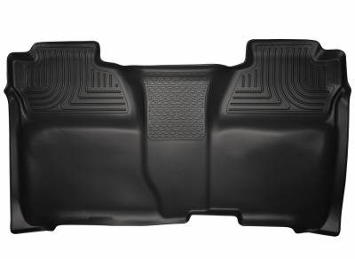 Husky Liners - HUSKY  WeatherBeater Series  2nd Seat Floor Liner  Black