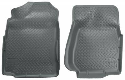 Floor Mats - Husky Floor Mats - Husky Liners - HUSKY  Classic Style Series  Front Floor Liners  Black