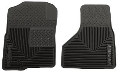 Floor Mats - Husky Floor Mats - Husky Liners - HUSKY  Classic Style Series  2nd Seat Floor Liner  Black