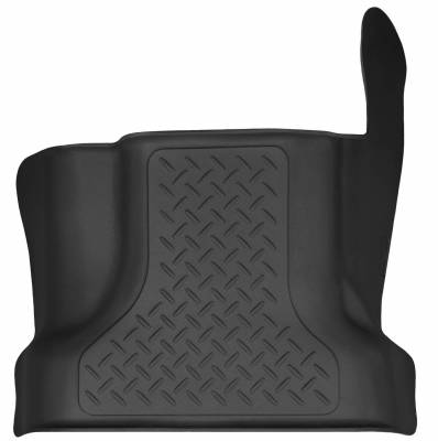 Floor Mats - Husky Floor Mats - Husky Liners - HUSKY  WeatherBeater Series  Front & 2nd Seat Floor Liners  Black