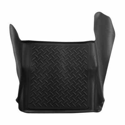 Floor Mats - Husky Floor Mats - Husky Liners - HUSKY  WeatherBeater Series  Front & 2nd Seat Floor Liners  Tan