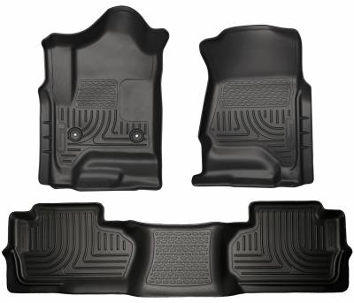 Husky Liners - HUSKY  Custom Mud Guards  Front Mud Guards  Black