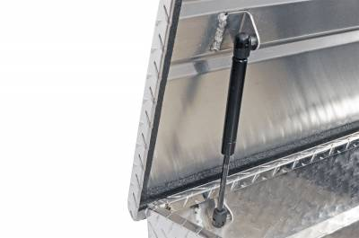 Aluminum - DeeZee Cross Boxes Aluminum - Dee Zee - DEE ZEE TOOL BOX-RED CROSSOVER-SINGLE LID BT ALUM (DZ10170)