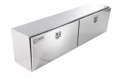 Aluminum - DeeZee Side Mount Boxes Aluminum - Dee Zee - DEE ZEE TOOL BOX-SPECIALTY TOPSIDER BT ALUM (DZ71)