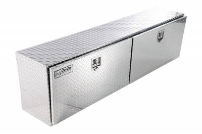 Aluminum - DeeZee Side Mount Boxes Aluminum - Dee Zee - DEE ZEE TOOL BOX-SPECIALTY TOPSIDER BT ALUM (DZ79)