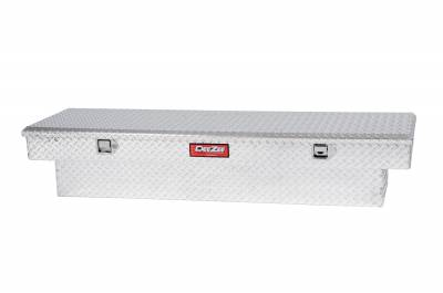 Aluminum - DeeZee Cross Boxes Aluminum - Dee Zee - DEE ZEE TOOL BOX-RED CROSSOVER-SINGLE LID BT ALUM (DZ8170)