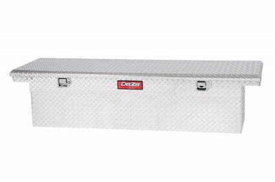Aluminum - DeeZee Cross Boxes Aluminum - Dee Zee - DEE ZEE TOOL BOX-RED CROSSOVER-SINGLE LID BT ALUM (DZ8170DL)