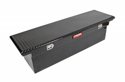 Aluminum - DeeZee Cross Boxes Aluminum - Dee Zee - DEE ZEE TOOL BOX-RED CROSSOVER-SINGLE LID BLACK BT (DZ8170DLB)