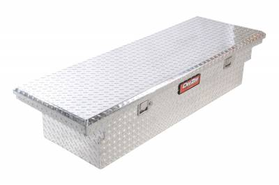 Aluminum - DeeZee Cross Boxes Aluminum - Dee Zee - DEE ZEE TOOL BOX-RED CROSSOVER-SINGLE LID BT ALUM (DZ8170L)