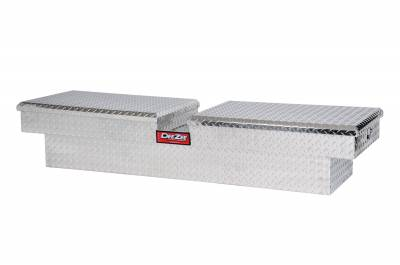Aluminum - DeeZee Cross Boxes Aluminum - Dee Zee - DEE ZEE TOOL BOX-RED CROSSOVER-DOUBLE BT ALUM (DZ8370)