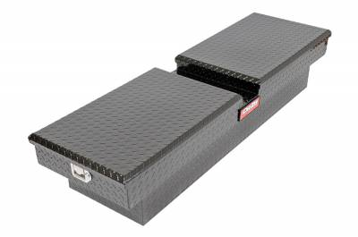 Aluminum - DeeZee Cross Boxes Aluminum - Dee Zee - DEE ZEE TOOL BOX-RED CROSSOVER-DOUBLE BLACK BT (DZ8370B)