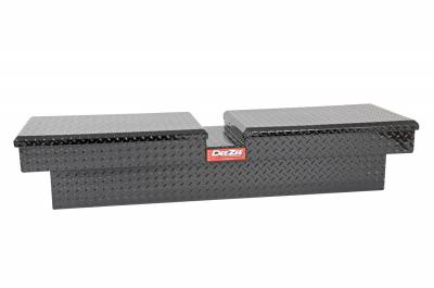 Aluminum - DeeZee Cross Boxes Aluminum - Dee Zee - DEE ZEE TOOL BOX-RED CROSSOVER-DOUBLE BLACK BT (DZ8370TB)