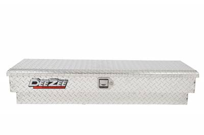 Aluminum - DeeZee Side Mount Boxes Aluminum - Dee Zee - DEE ZEE TOOL BOX-RED SIDE MOUNT BT ALUM (DZ8760)