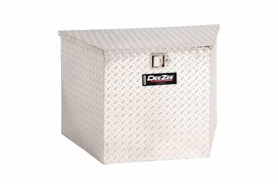 Misc. Utility - DeeZee Utility Boxes - Dee Zee - DEE ZEE TOOL BOX-SPECIALTY TRIANGLE BT ALUM (DZ91717)
