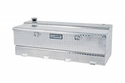 Combo Tanks - DeeZee Combo Tanks Aluminum - Dee Zee - DEE ZEE TOOL BOX-SPECIALTY TANK-COMBO BT ALUM (DZ91740)