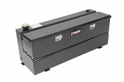 Combo Tanks - DeeZee Combo Tanks Aluminum - Dee Zee - DEE ZEE TOOL BOX-SPECIALTY TANK-COMBO BLACK BT (DZ91740B)